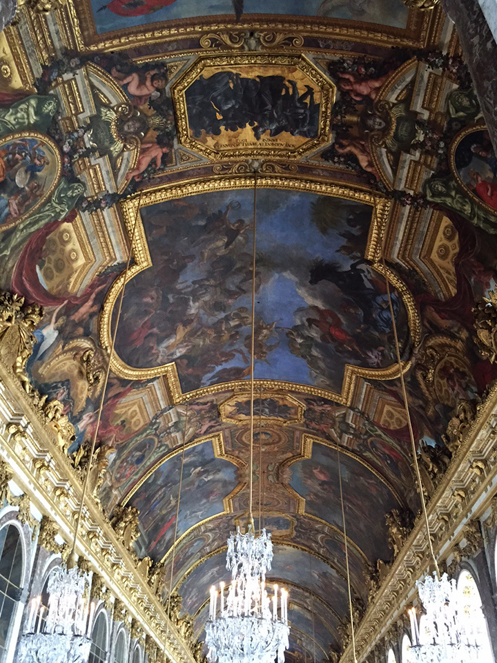 Versailles Hall of Mirrors 3