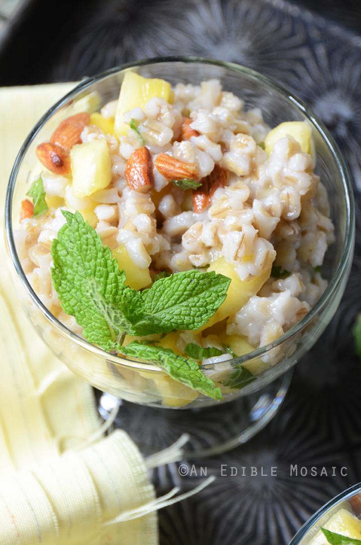 Breakfast Pineapple and Pearl Barley Pilaf 2