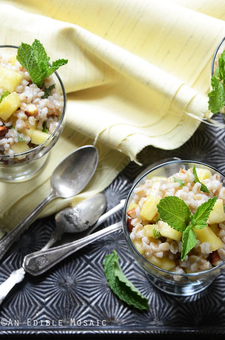 Breakfast Pineapple and Pearl Barley Pilaf 4