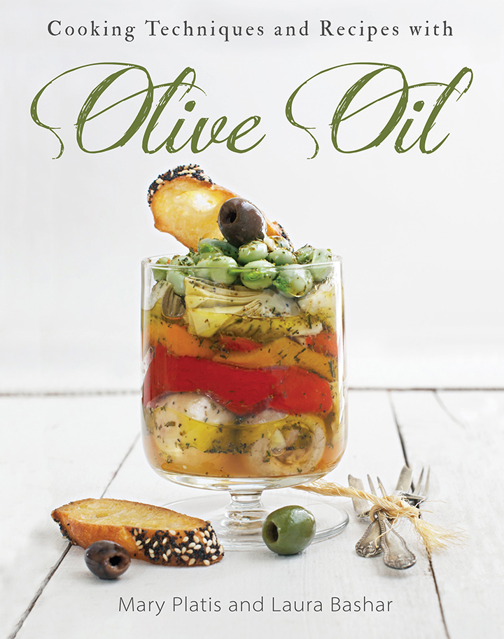 Olive Oil Cookbook Cover