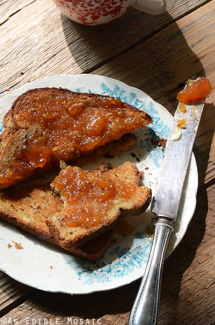 Vanilla-Scented Peach Jam 3