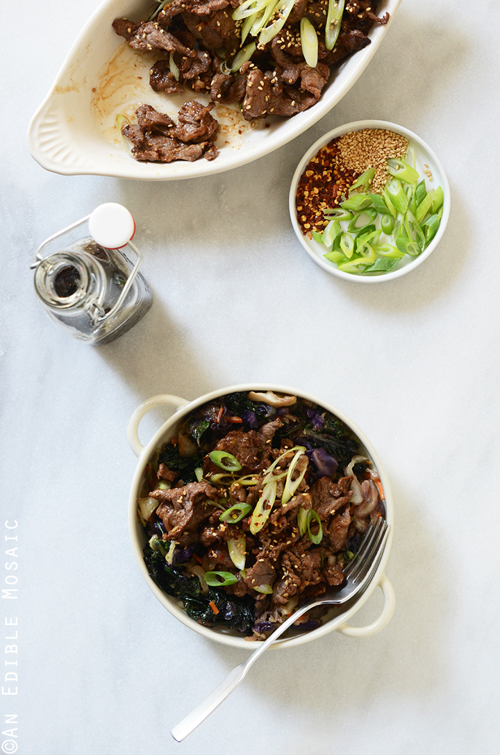 Korean Barbeque Beef (Bulgogi) 2