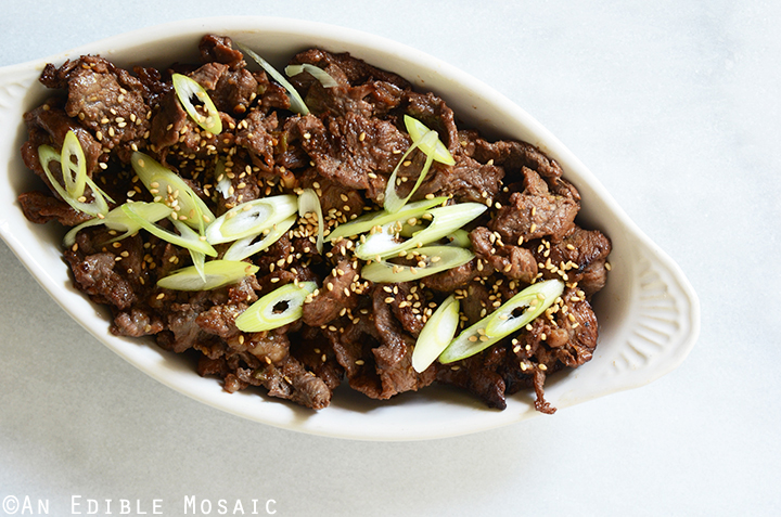 Korean Barbeque Beef (Bulgogi) 3