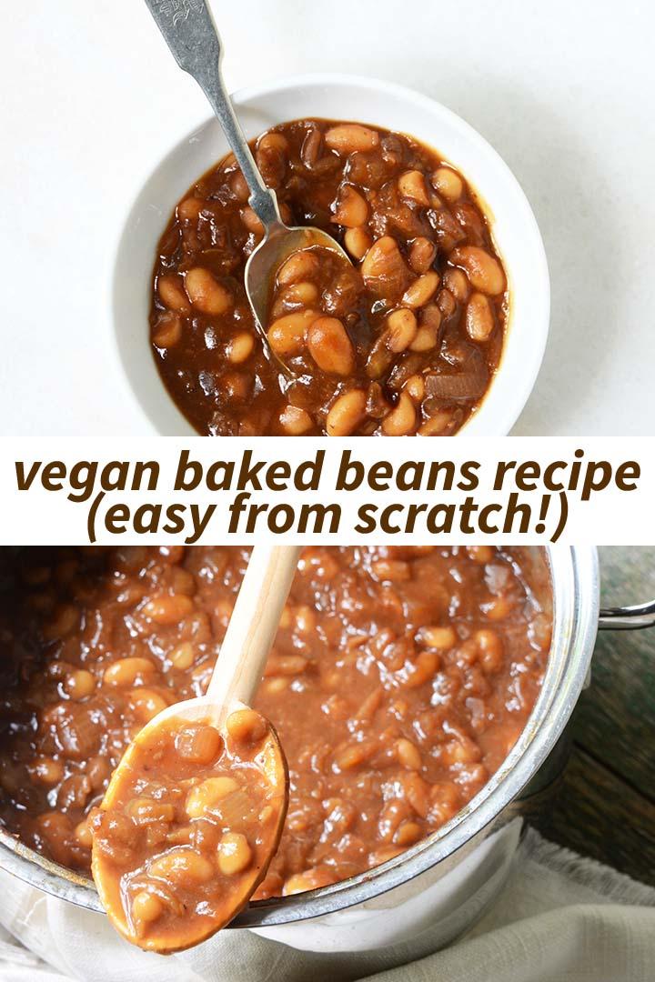 Vegan Baked Beans Recipe Pin