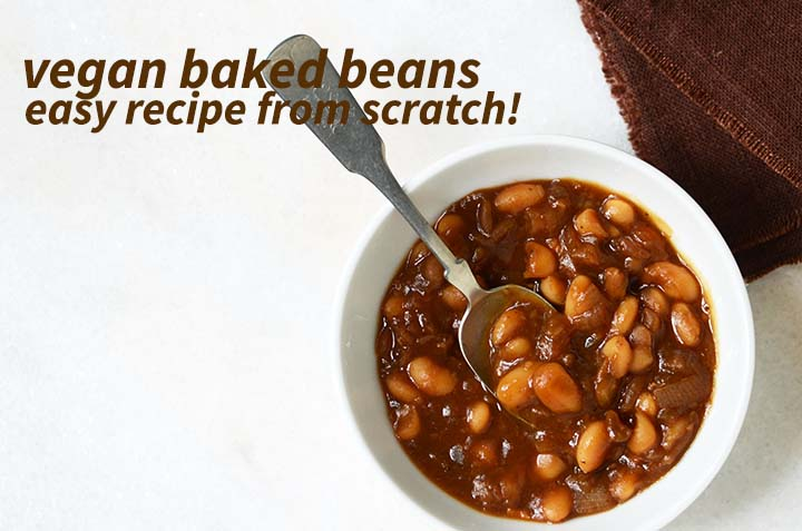 Vegan Baked Beans with Description