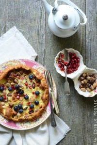 15-Minute Dutch Baby Pancake for One {Gluten-Free}