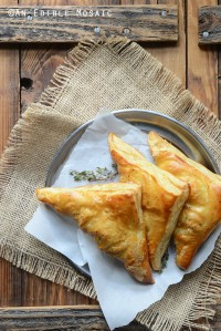 Easy Leftover Turkey, Mushroom, and Brie Puff Pastries 1