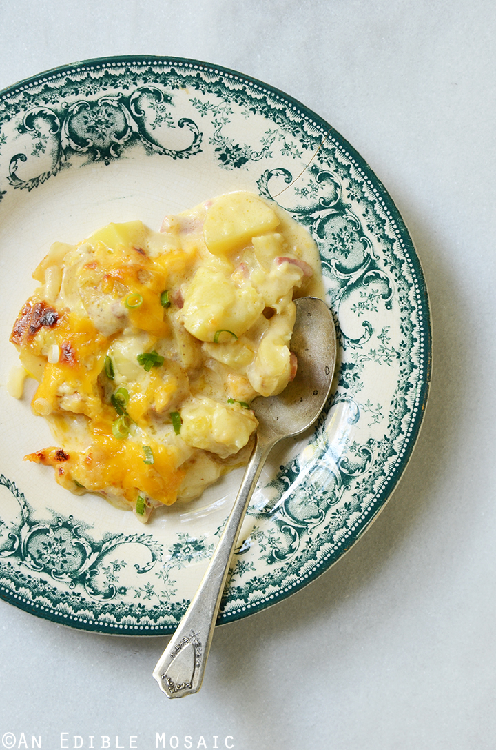 Loaded Cheesy Potato Casserole 4