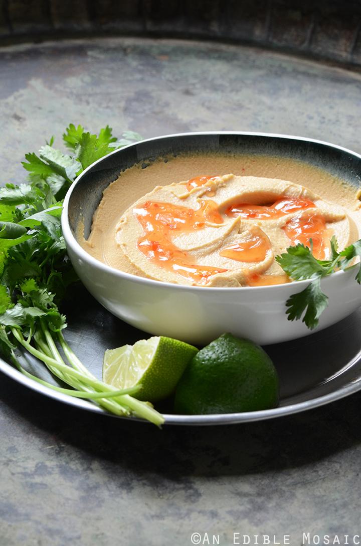 Peanutty Thai Curry Hummus 3