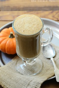 Sweet Potato Spice Latte {Paleo; Vegan} 1
