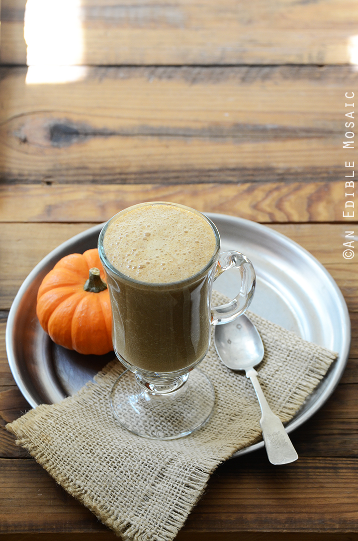 Sweet Potato Spice Latte {Paleo; Vegan} 3
