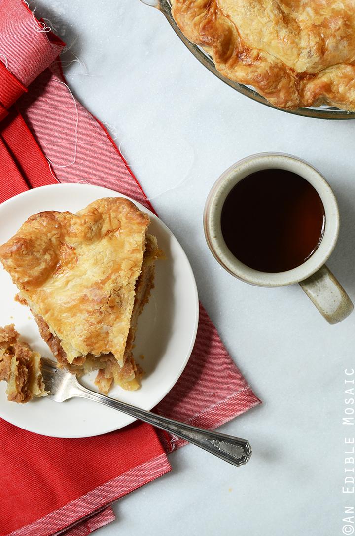 Vegan Apple Peanut Butter Pie 1