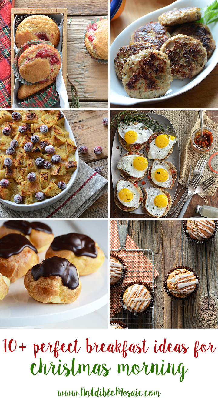 10+ Perfect Breakfast Ideas for Christmas Morning Collage