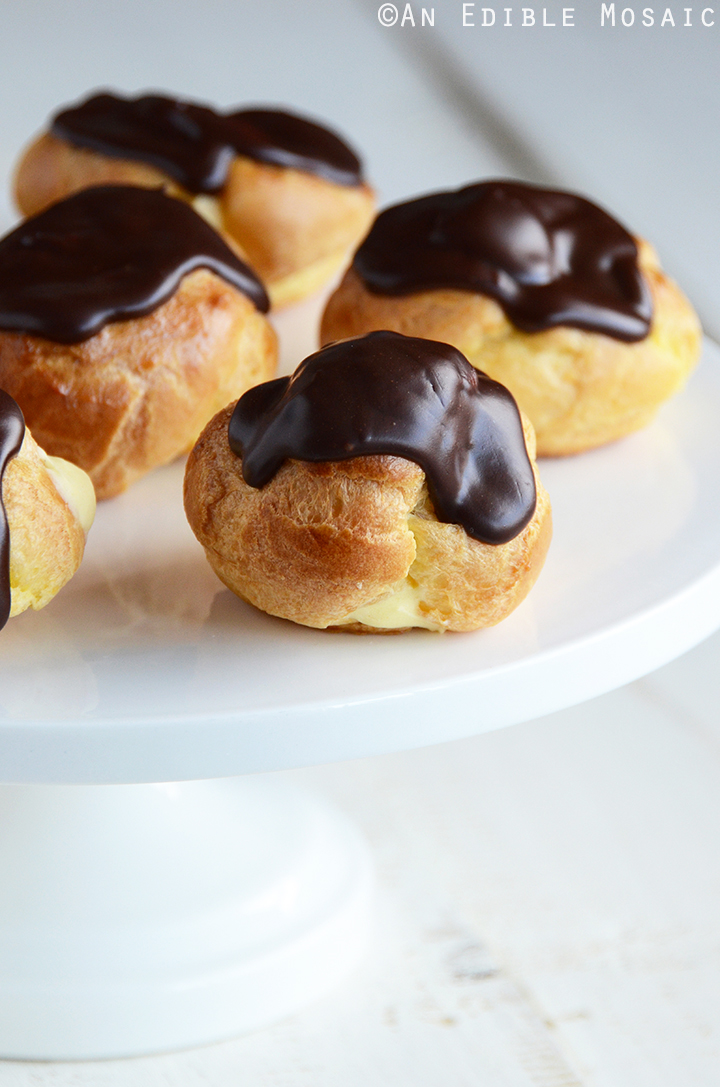 Cream Puffs (Profiteroles)