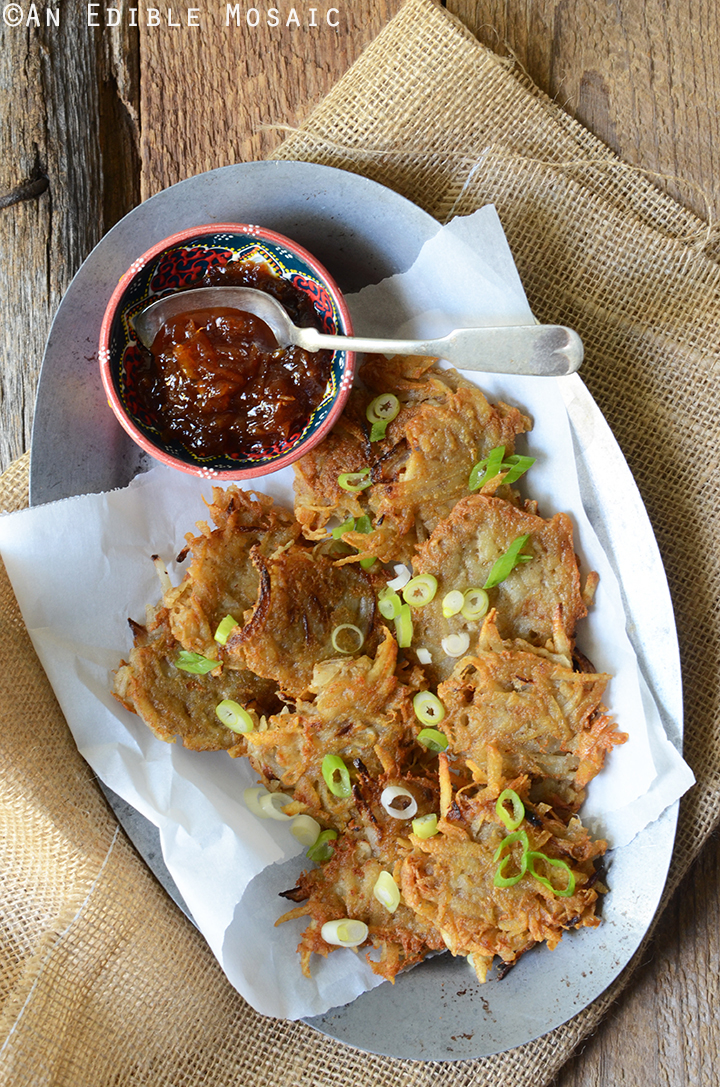 Indian-Spiced Idaho Potato Latkes