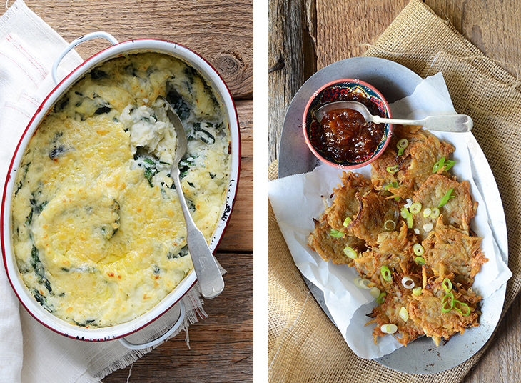Two Potato Side Dishes for Holiday Entertaining