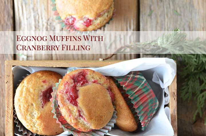Eggnog Muffins with Description