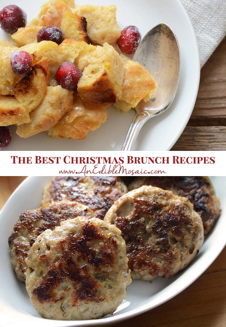 The Best Christmas Brunch Recipes Pin