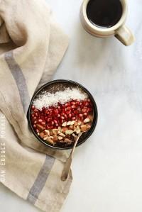 10-Minute Cinnamon Raisin Brown Rice Breakfast Porridge {Gluten-Free; Vegan}