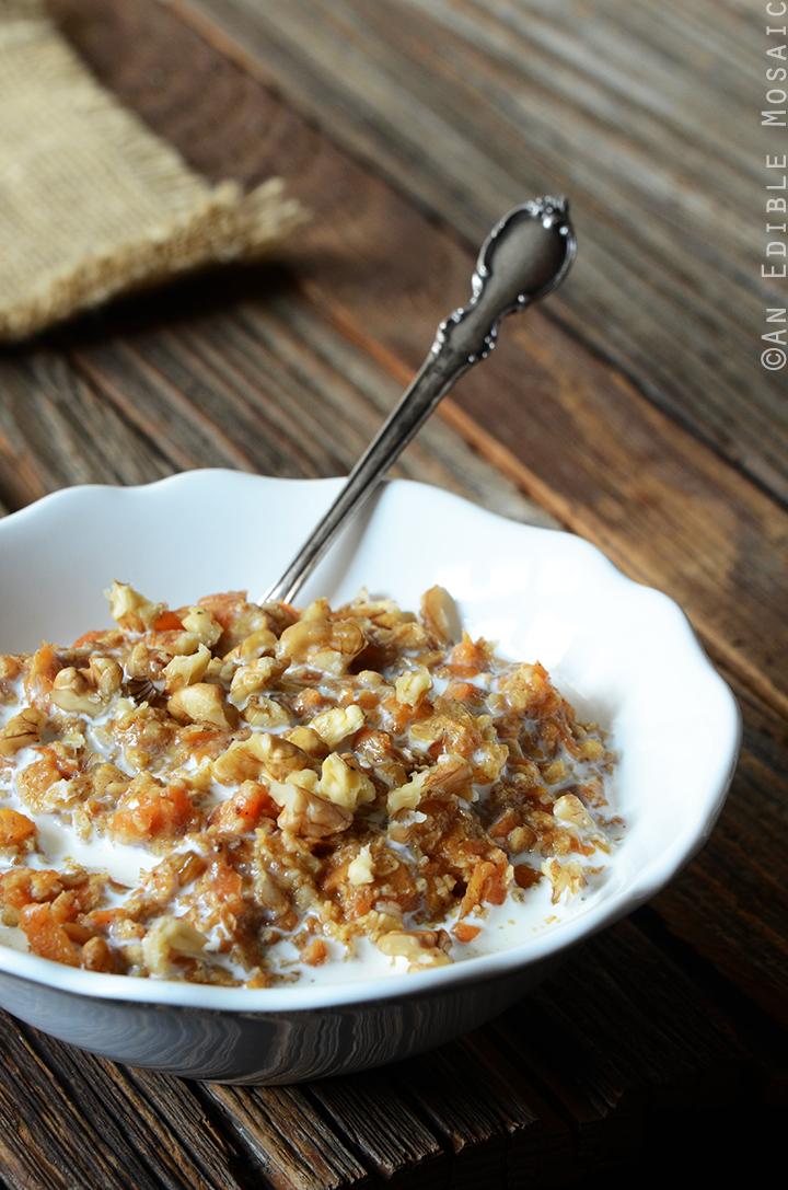 Carrot Cake Oatmeal 1