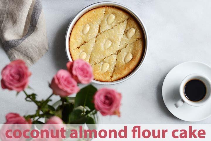 Coconut Almond Flour Cake Recipe with Description