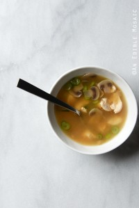 Easy Miso Chicken Soup