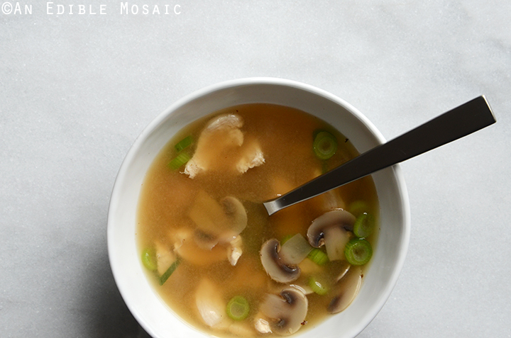 Easy Miso Chicken Soup 2
