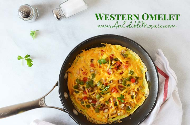Western Omelette with Description
