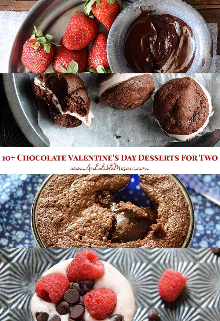 10+ Chocolate Valentine's Day Desserts For Two Pin