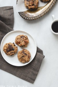 Healthy Fig and Pecan Breakfast Cookies {Gluten-Free}