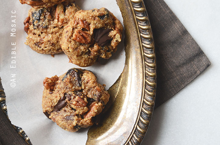 Healthy Fig and Pecan Breakfast Cookies {Gluten-Free} 4