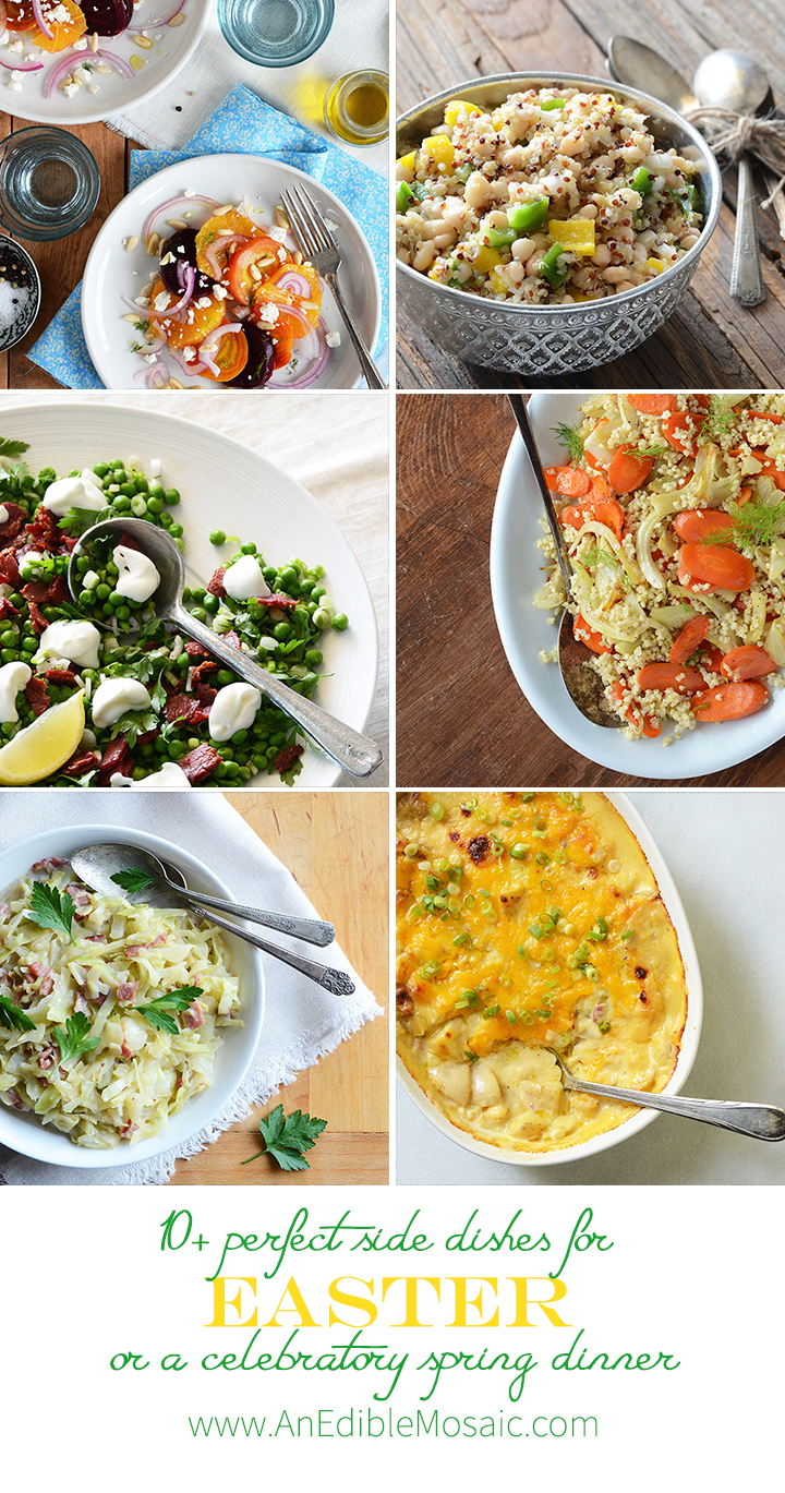 10+ Perfect Side Dishes for Easter or a Celebratory Spring Dinner