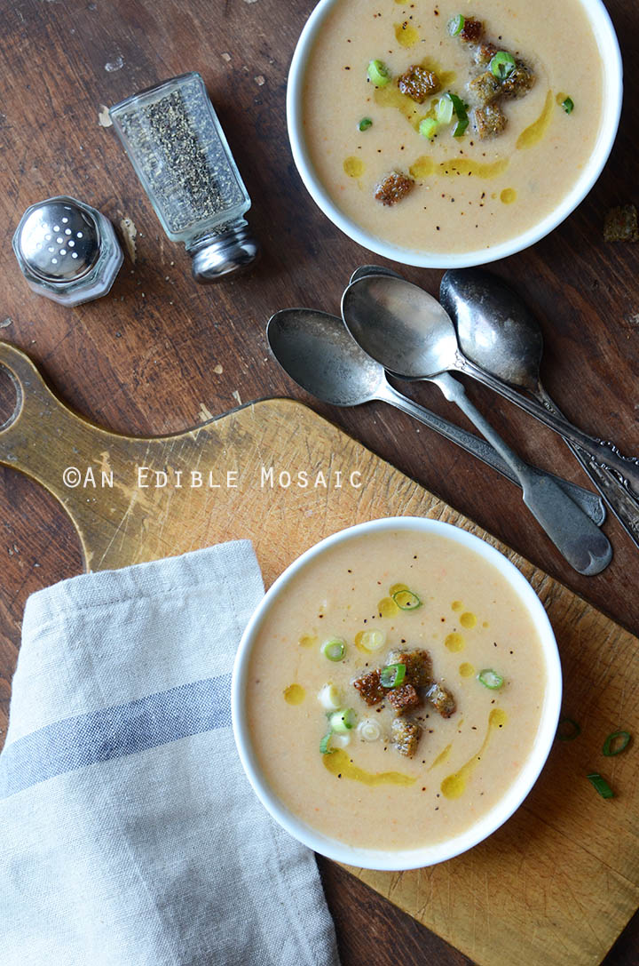 Beer and Cheese Cauliflower Soup 3