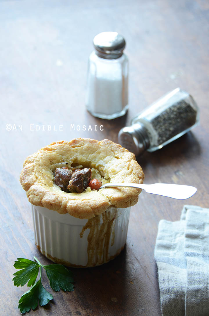 Steak, Ale, and Mushroom Pot Pies {Paleo} 1
