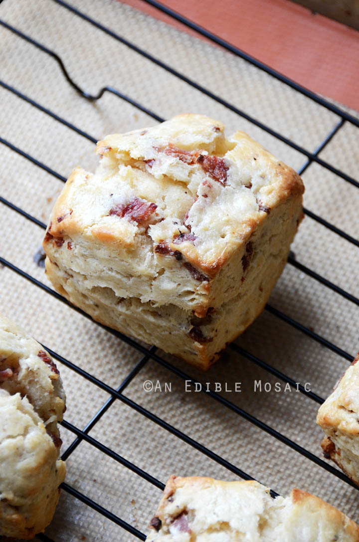 Sunday Morning Scones {aka Maple Bacon Scones with Coffee Glaze} 3