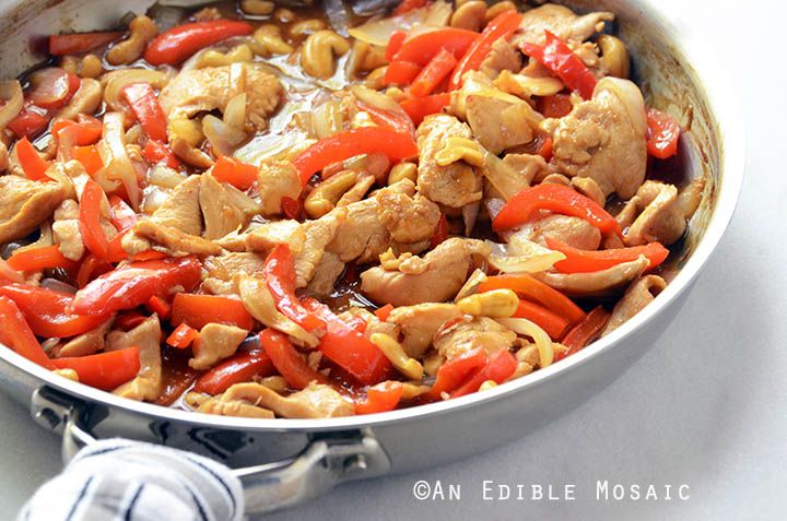30-Minute Thai-Inspired Cashew Chicken Skillet Supper {Paleo} 2