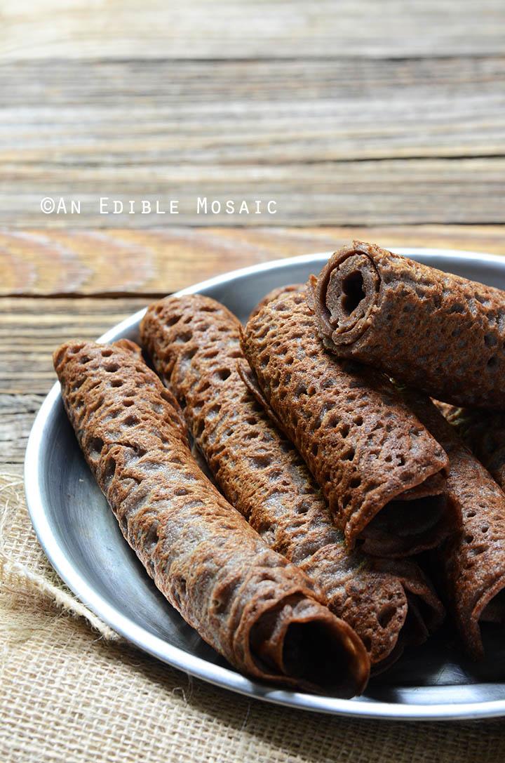 Ingera (Ethiopian Flatbread) 1