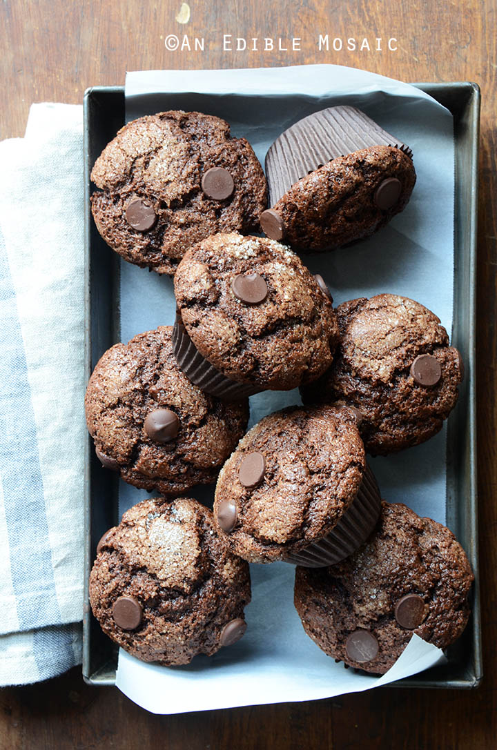 Mexican-Spiced Triple Chocolate Muffins 3