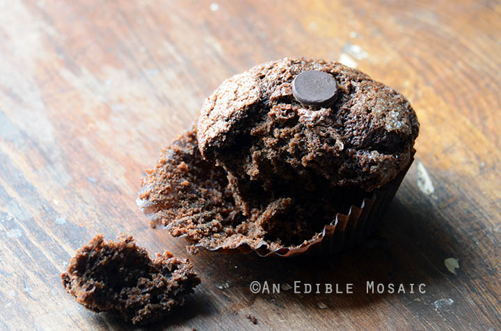 Mexican-Spiced Triple Chocolate Muffins 5