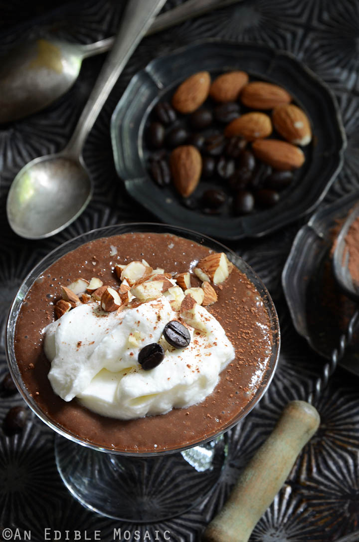 10-Minute Cinnamon-Almond Mocha Pudding 2
