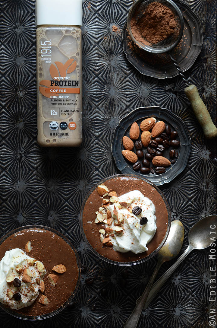 10-Minute Cinnamon-Almond Mocha Pudding 3
