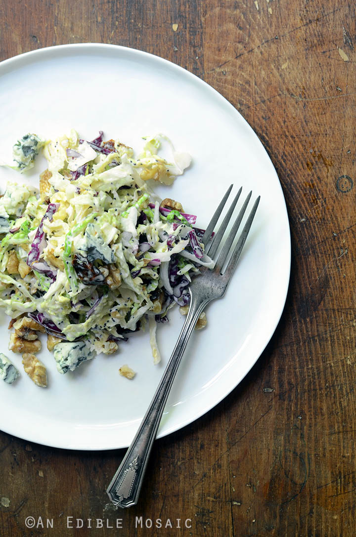 Creamy Coleslaw with Tart Cherries, Blue Cheese, and Toasted Walnuts 3