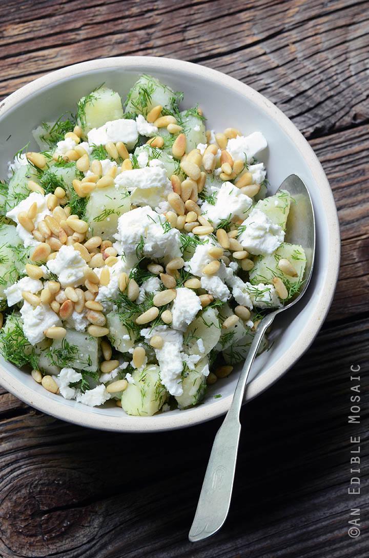 Spanakopita Potato Salad 1
