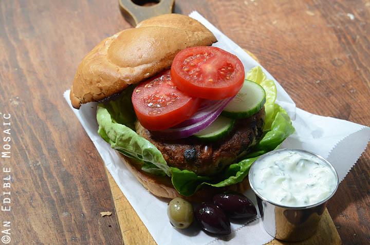 Spanakopita Turkey Burgers 4