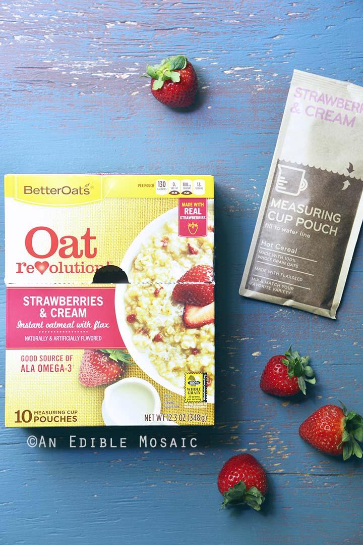 BetterOats Strawberries and Cream