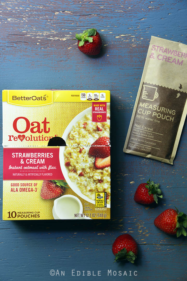 Strawberries & Cream Instant Oatmeal