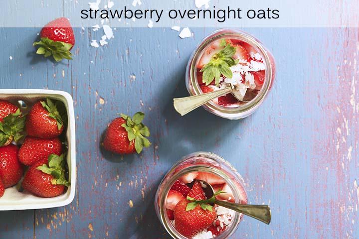 Strawberry Overnight Oats Recipe with Description