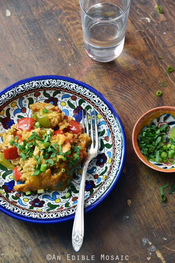 BBQ Pepper Jack Chicken and Brown Rice Casserole 3