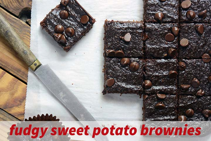 Fudgy Sweet Potato Brownies Recipe with Description