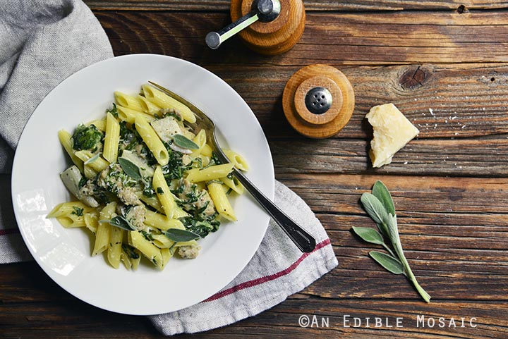 gluten-free-penne-pasta-with-chicken-sausage-sage-and-apple-cream-sauce-5